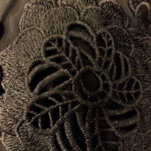 Calvin Klein Dresses - NWT Calvin Klein Black Dress Chiffon Bell Sleeves